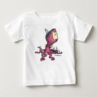 enfants poopy de poulpe t-shirt pour bébé