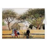 Enfants sur une barrière par Winslow Homer Cartes De Vœux