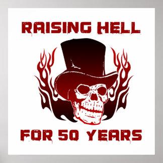 Enfer de augmenter pendant 50 années affiche