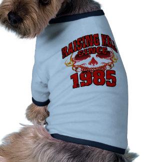 Enfer depuis 1985 .png de augmenter tee-shirts pour animaux domestiques