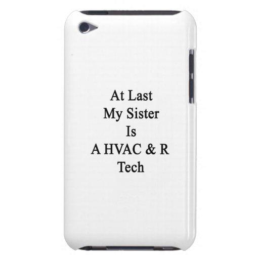 Enfin ma soeur est une technologie de la CAHT R Coque iPod Touch
