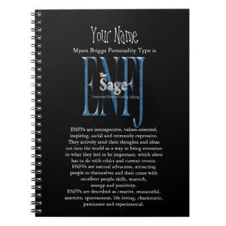 ENFJ theSage Notebooks