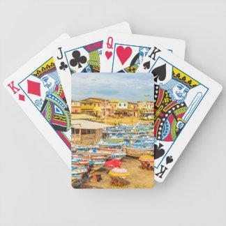 Engabao Beach at Guayas District Ecuador Bicycle Playing Cards