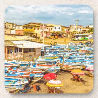Engabao Beach at Guayas District Ecuador Coaster