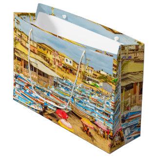 Engabao Beach Guayas Province Ecuador Large Gift Bag
