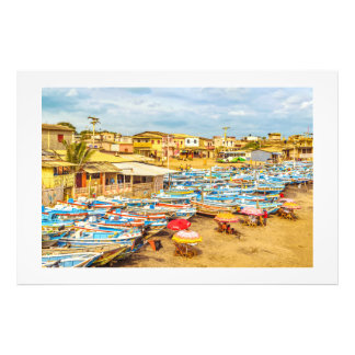 Engabao Beach Guayas Province Ecuador Photo Print