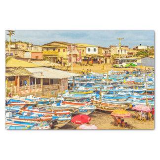 Engabao Beach Guayas Province Ecuador Tissue Paper