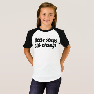 Engage 2 Act Youth Little Steps BIG Change t-shirt