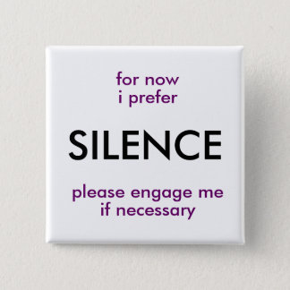 engage if necessary 2 inch square button