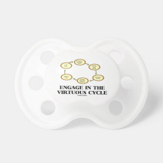 Engage In The Virtuous Cycle Macroeconomics Baby Pacifiers