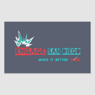 Engage San Diego Sticker V1