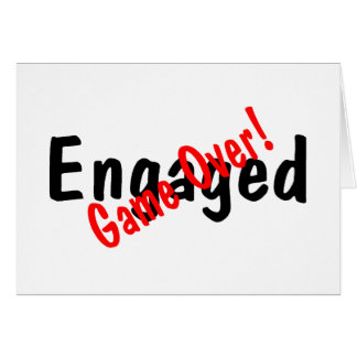 Engaged Game Over Card