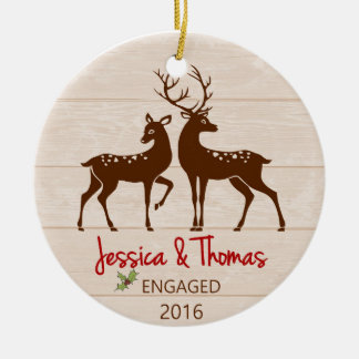 Engaged Personalized ornament