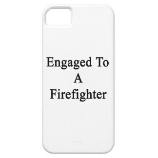 Engaged To A Firefighter iPhone 5 Cases