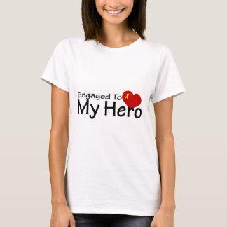 Engaged To My Hero T-Shirt