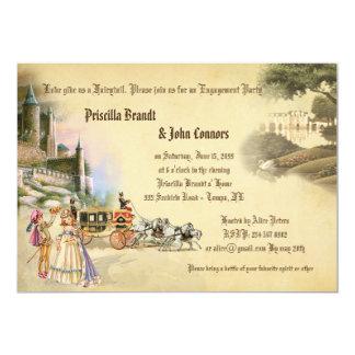 Engagement Announcement, Fantasy fairytale Card