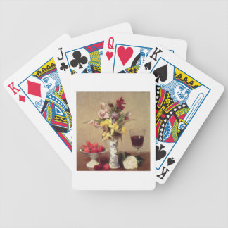 Engagement Bouquet Bicycle Playing Cards