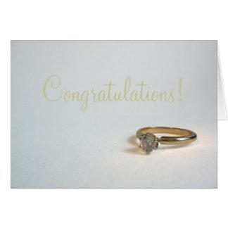 Engagement Congrats Card