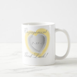 Engagement Cup - Customized - Customized Coffee Mugs