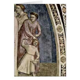 Engagement Of St. Francis By Giotto Di Bondone Cards