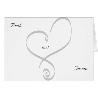 Engagement Party Invitation-Heart Card