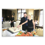 ENGAGEMENT PARTY: SHANE AND STEFFIE CUTTING CAKE!