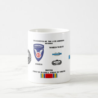 Engagements of  the 11th Airborne Division Coffee Mugs