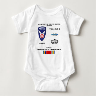 Engagements of  the 11th Airborne Division T-shirts