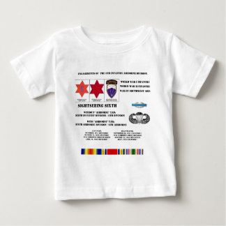 Engagements of  the 6th Infantry/Airborne Division Shirts