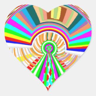 Engaved Gold Plate + Jewel Award Florals Heart Sticker