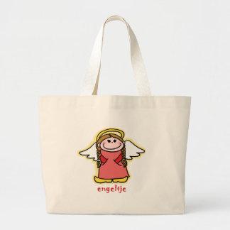 Engeltje (little angel in Dutch) Large Tote Bag
