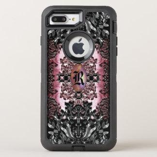 Enghel Thames Baroque Unique Goth Chic Monogram OtterBox Defender iPhone 8 Plus/7 Plus Case
