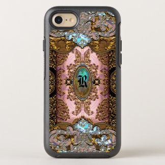 Enghelryste French Girly Monogram OtterBox Symmetry iPhone 8/7 Case