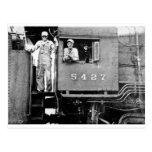 Engine 5427 Vintage Locomotive Train Engine Post Card