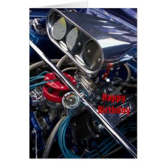 Engine Happy Birthday Crd Card
