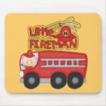 Engine Little Fireman Tshirts and Gifts Mousepad