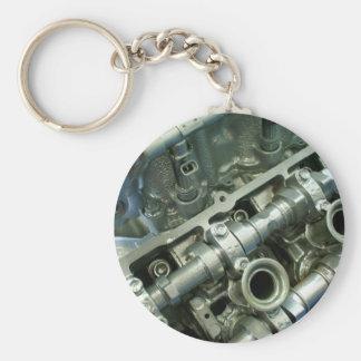 Engine Motor Guts Keychain