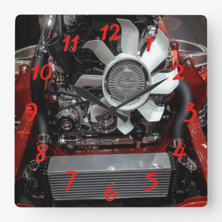 Engine Wall Clocks