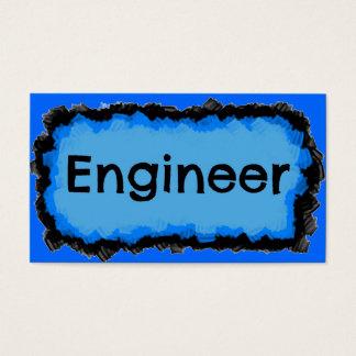 Engineer Blue Cloud Business Card