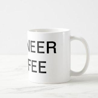 engineer coffee basic white mug