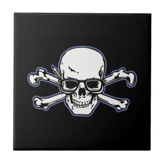 Engineer & Crossbones Tile