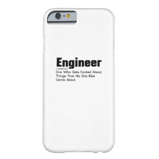 Engineer Definition  Funny Gift For Enginner Barely There iPhone 6 Case