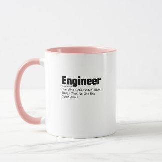 Engineer Definition  Funny Gift For Enginner Mug