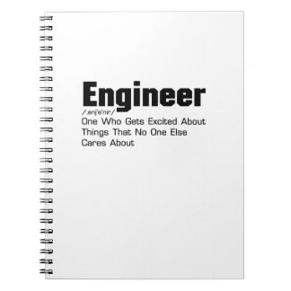 Engineer Definition  Funny Gift For Enginner Notebooks
