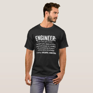 Engineer Definition T-Shirt