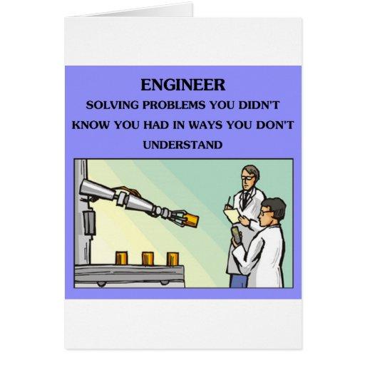 engineer engineering joke greeting cards