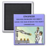 engineer engineering joke magnets
