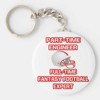 Engineer .. Fantasy Football Expert Keychain