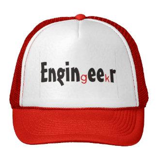 "Engineer ""Geek"" funny gifts Trucker Hat"