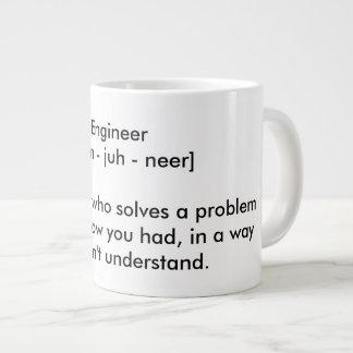 Engineer Giant Coffee Mug